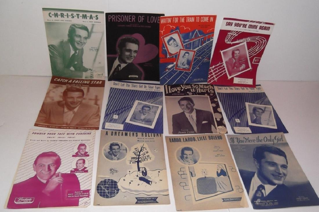34 PIECES SHEET MUSIC LOT SINATRA BENNET  SMITH - 4