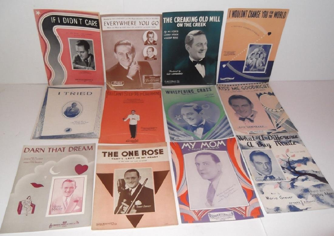34 PIECES SHEET MUSIC LOT SINATRA BENNET  SMITH - 5