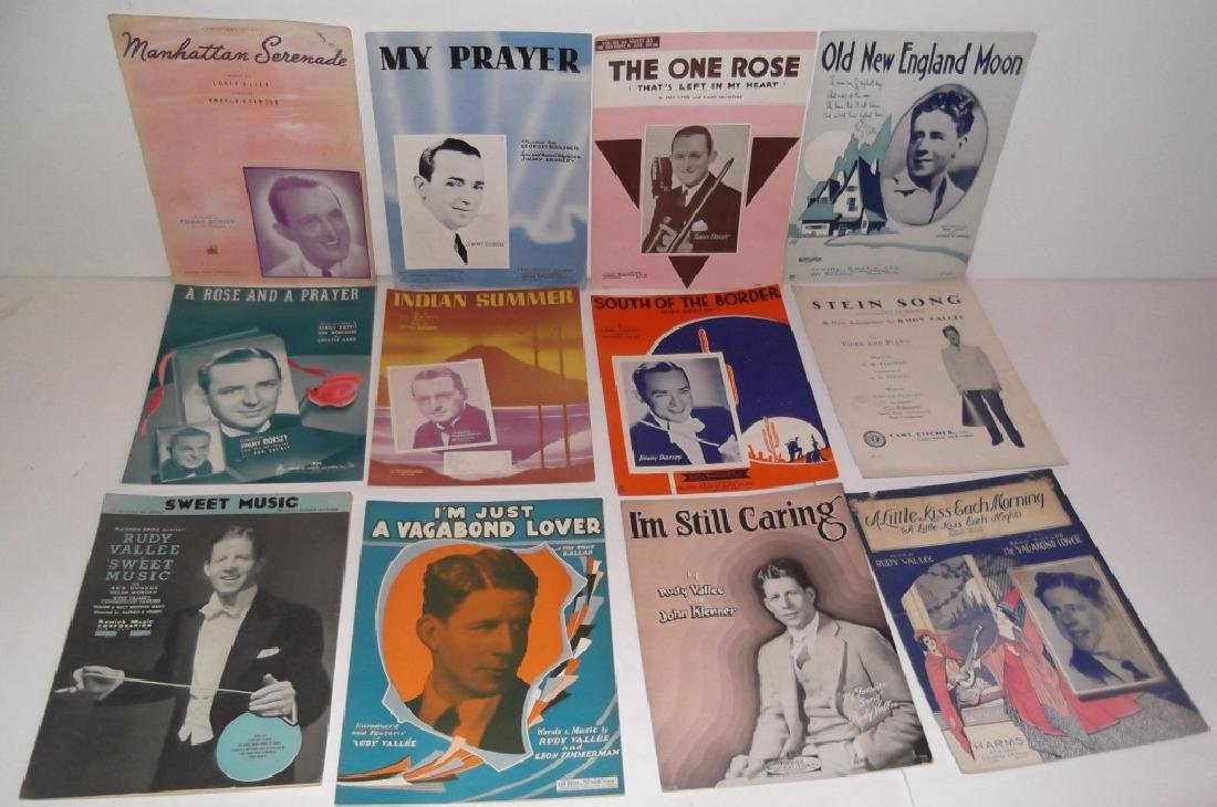 34 PIECES SHEET MUSIC LOT SINATRA BENNET  SMITH - 6