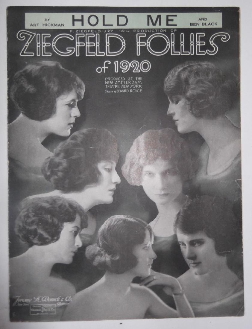 12 PIECES SHEET MUSIC LOT ZIEGFELD FOLLIES - 3