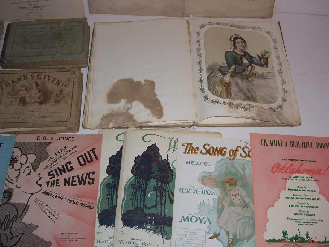 29 pieces 18th/19th century sheet music - 3