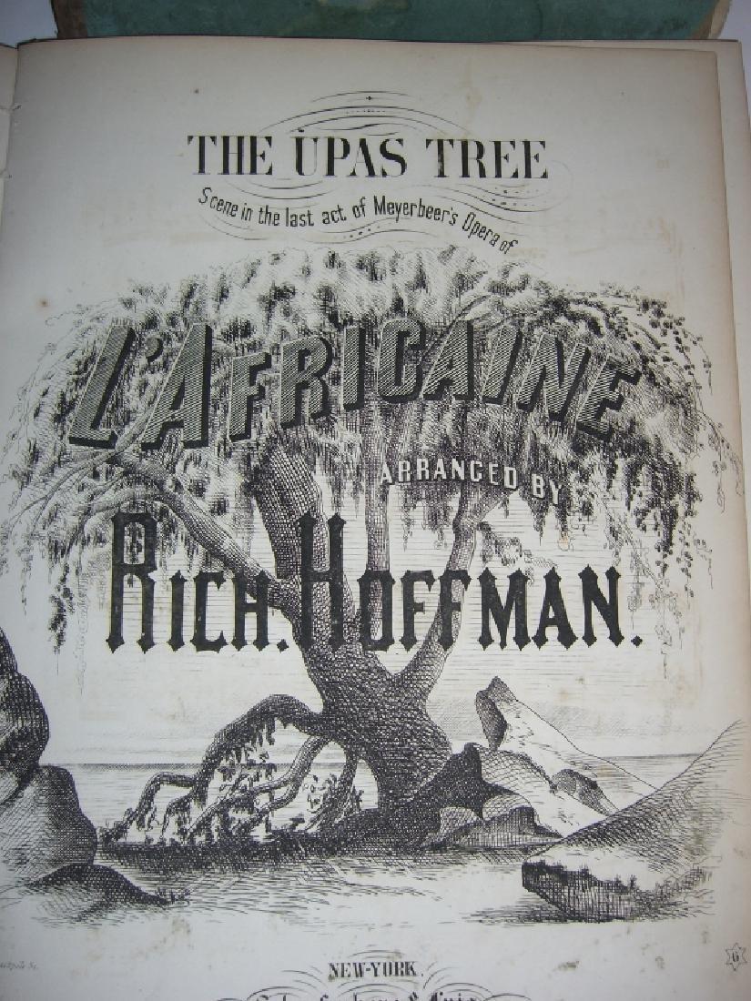 5 books 18th/19th century sheet music - 3