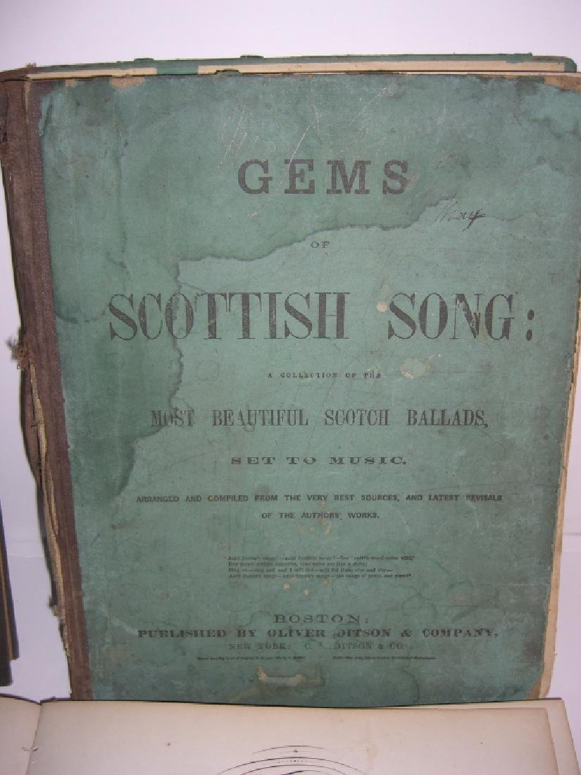 5 books 18th/19th century sheet music - 4