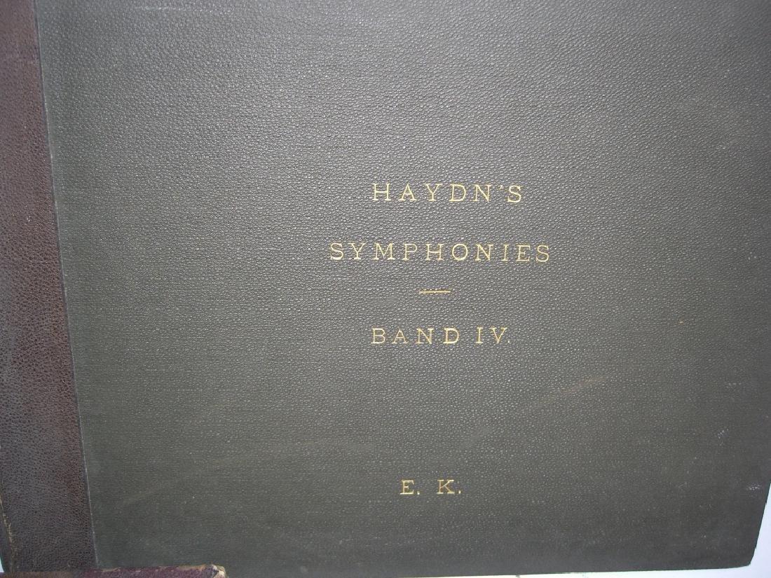 5 books 18th/19th century sheet music - 5