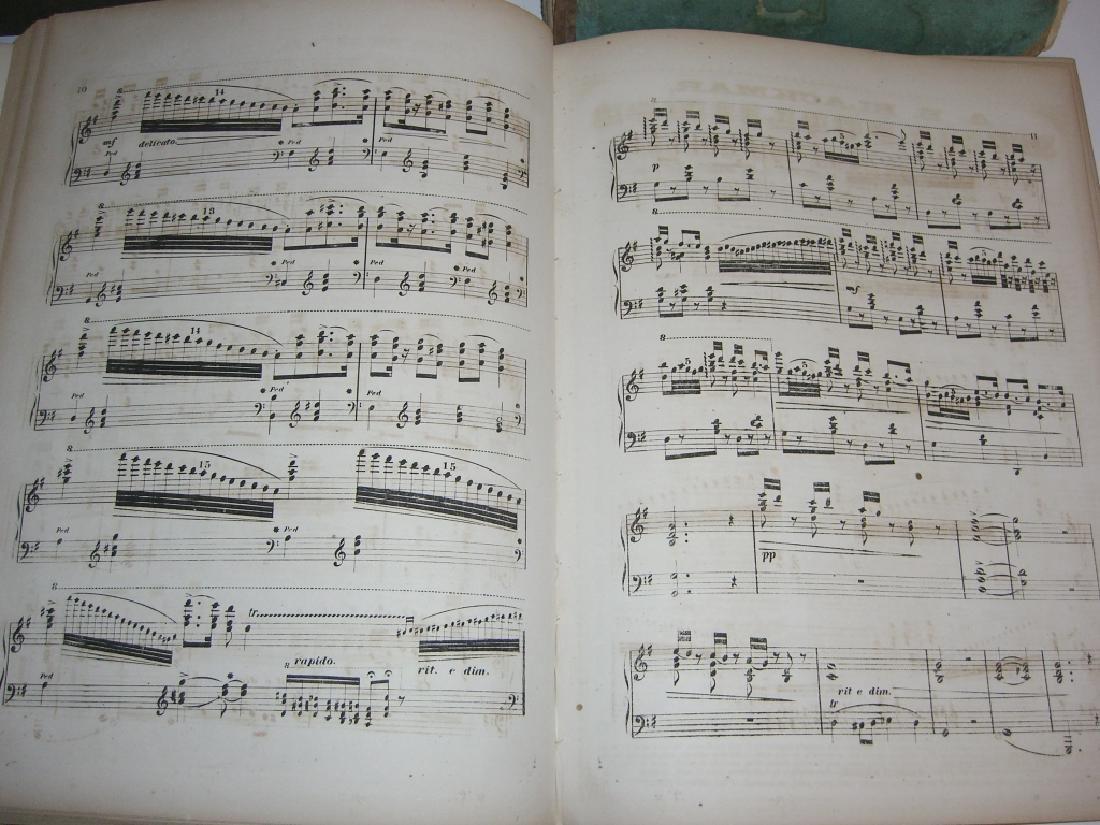 5 books 18th/19th century sheet music - 7