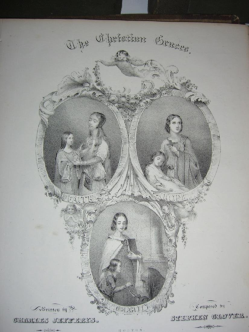 5 books 18th/19th century sheet music - 8