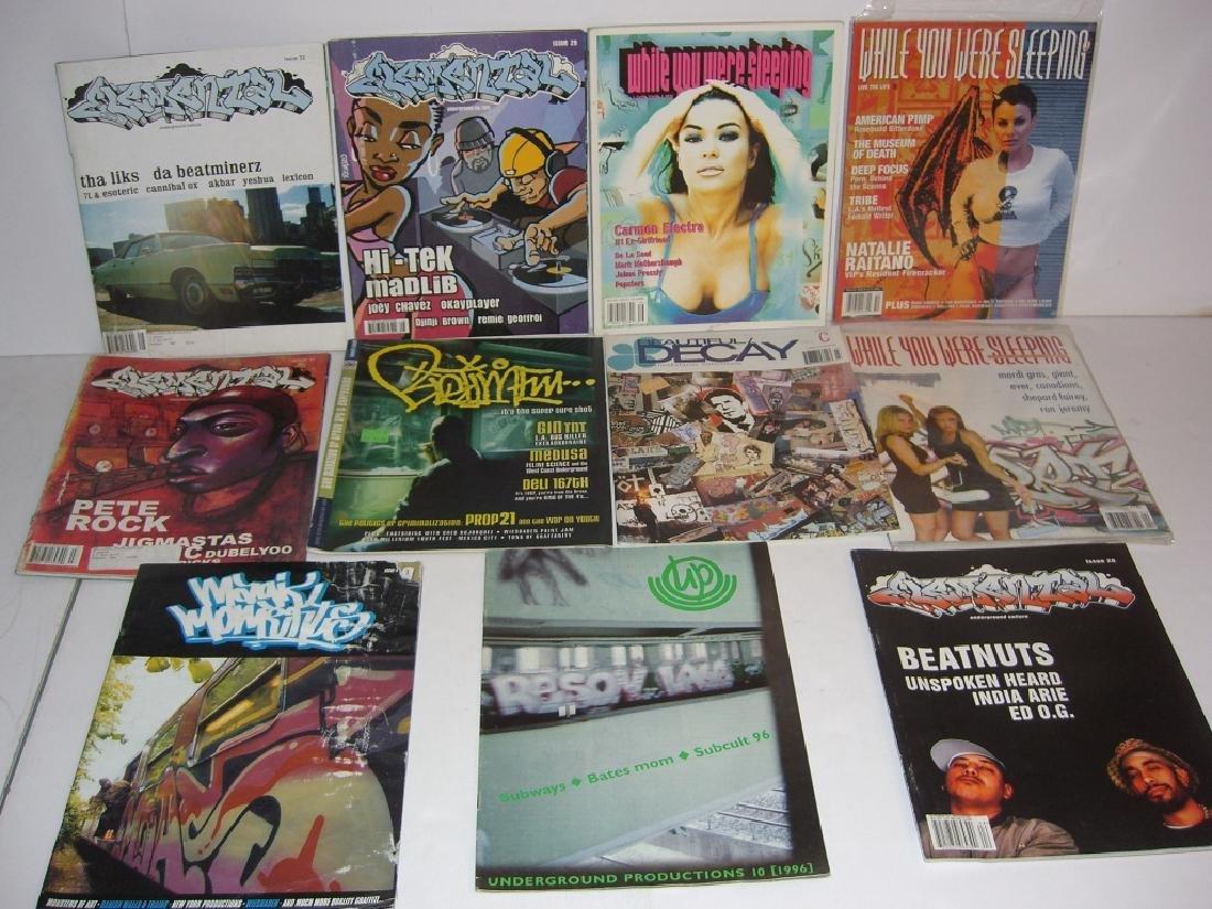11 hip hop/graffiti magazines