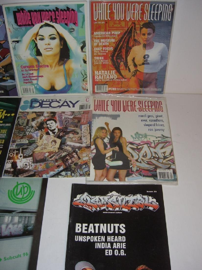 11 hip hop/graffiti magazines - 2