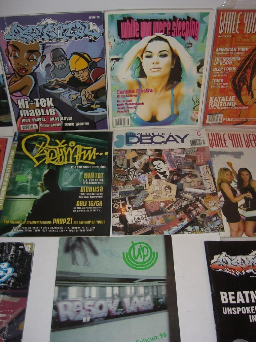 11 hip hop/graffiti magazines - 4