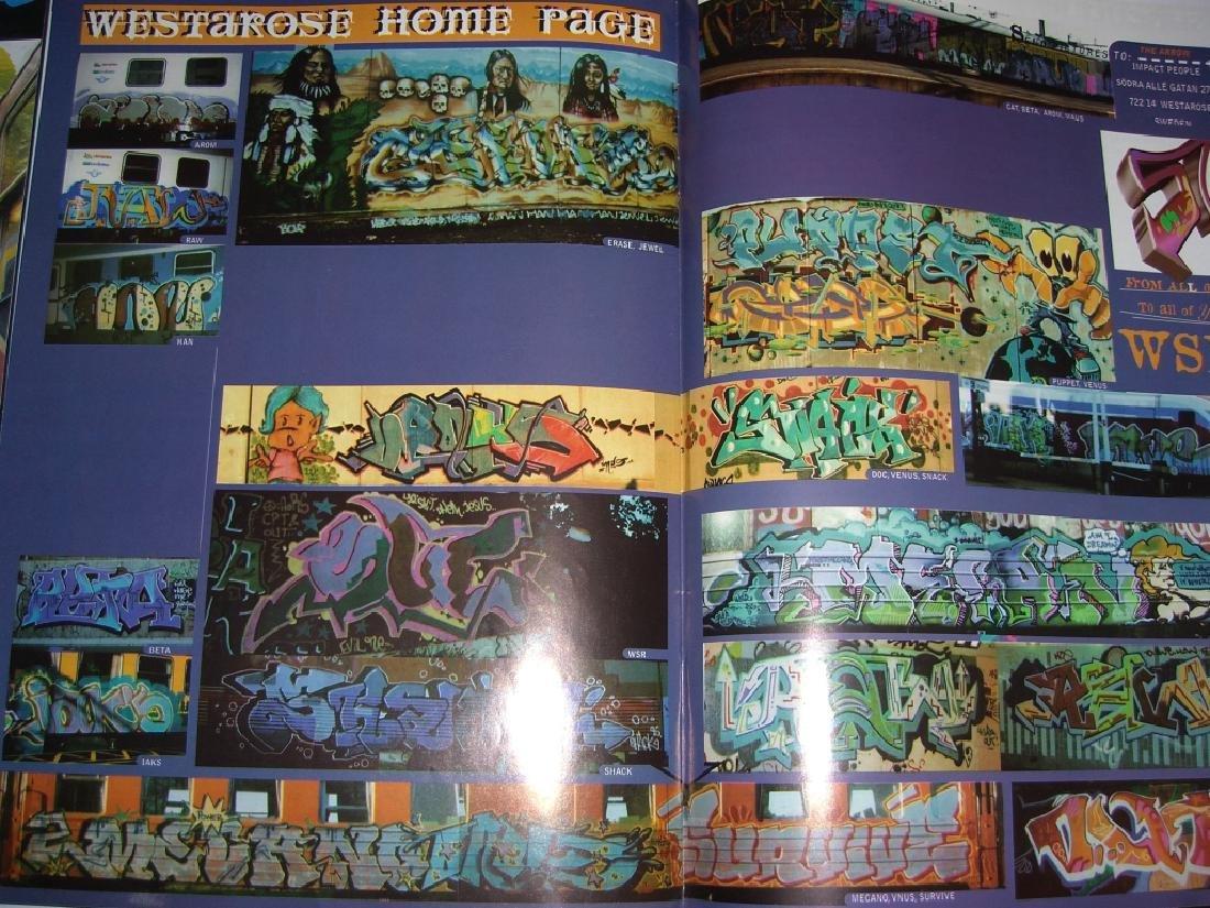 11 hip hop/graffiti magazines - 6