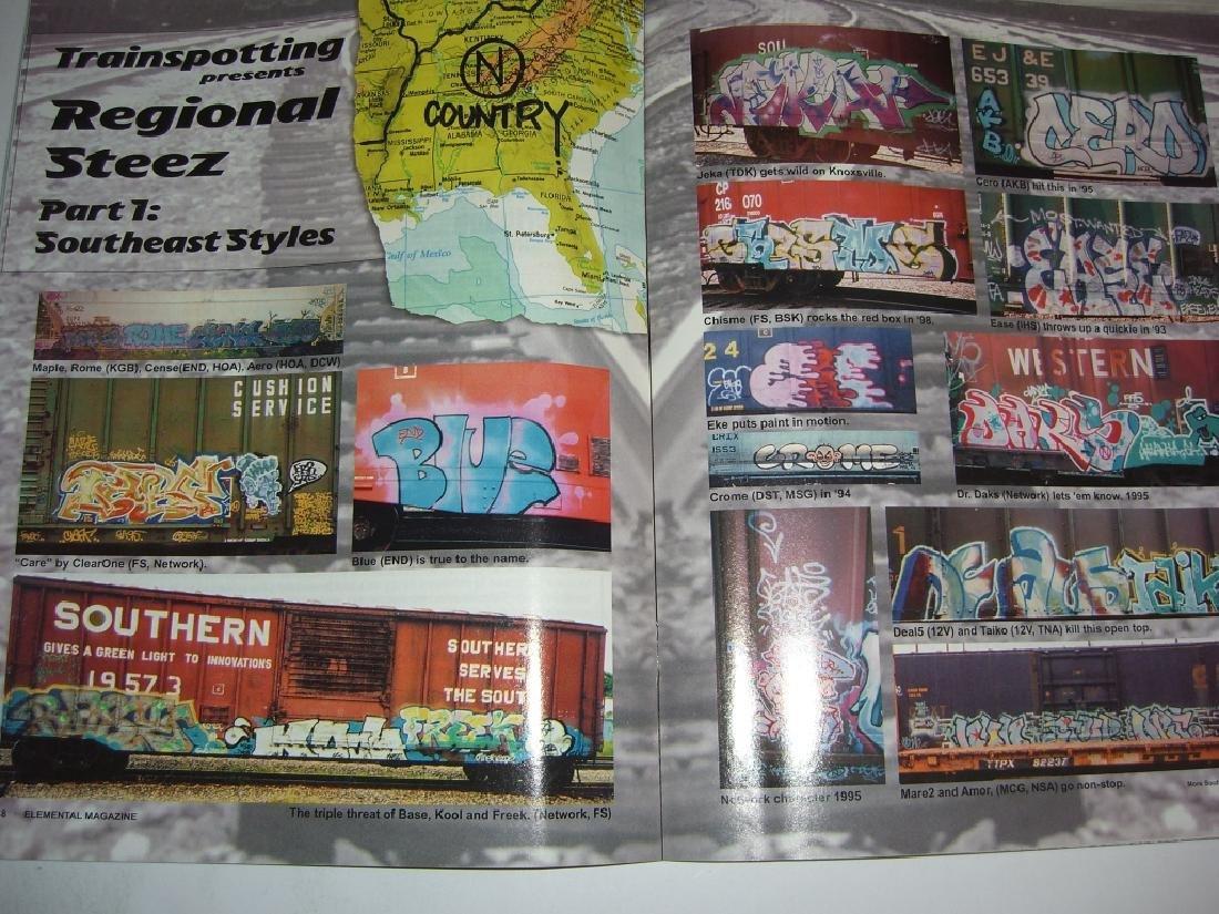 11 hip hop/graffiti magazines - 7
