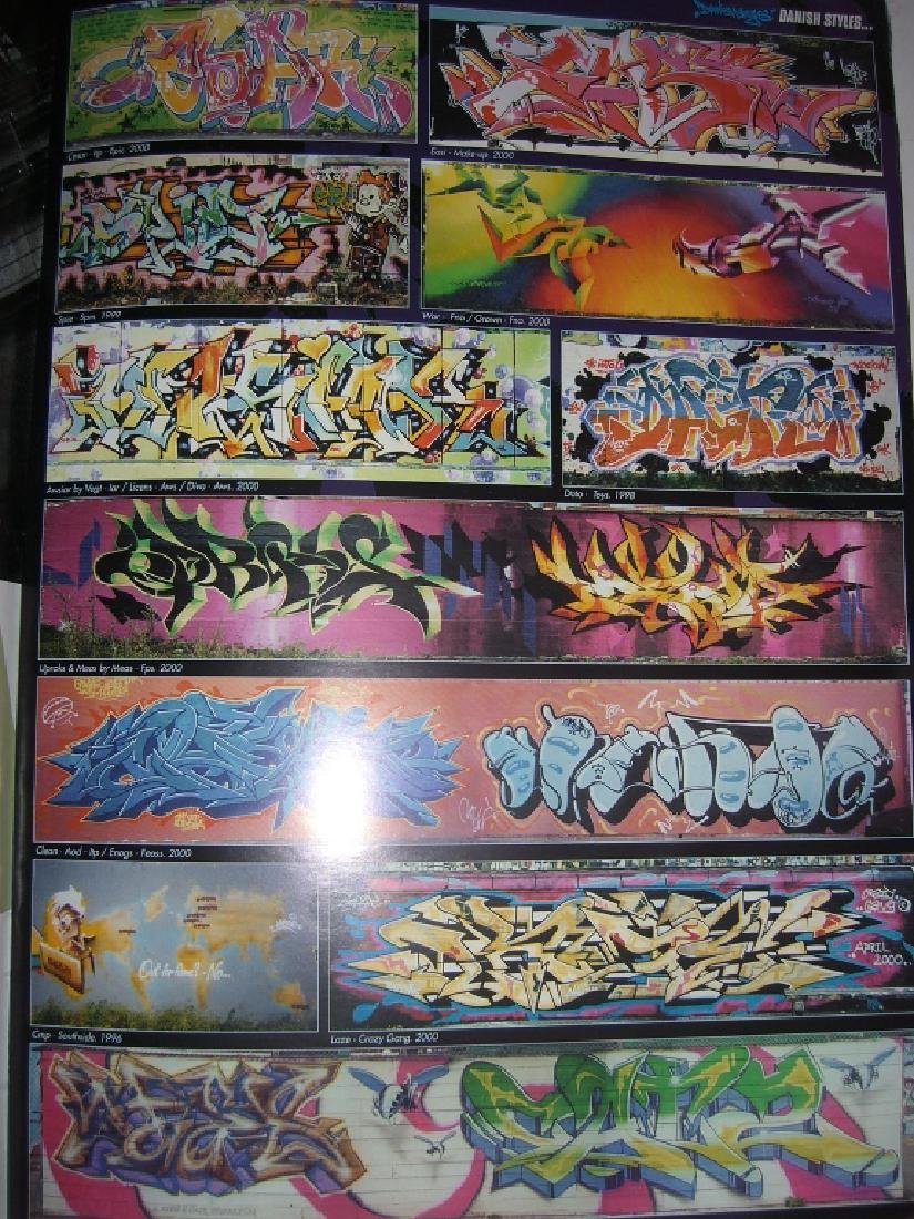 11 hip hop/graffiti magazines - 8