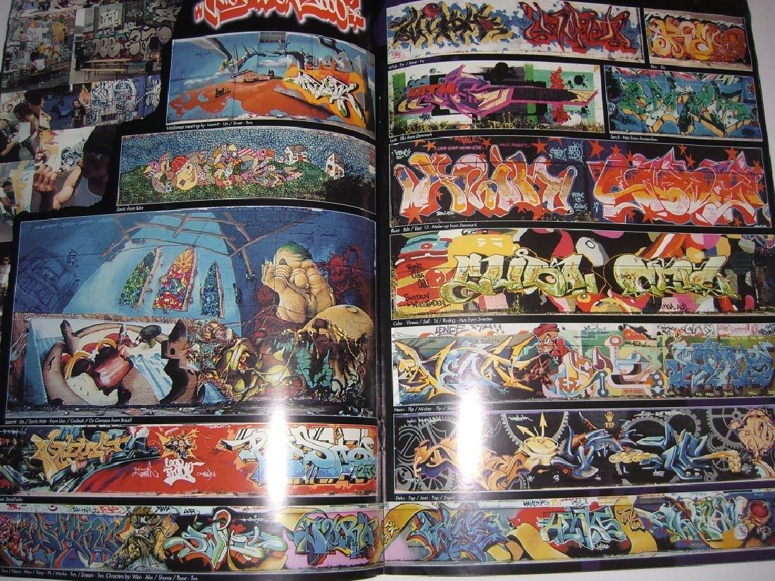 11 hip hop/graffiti magazines - 9