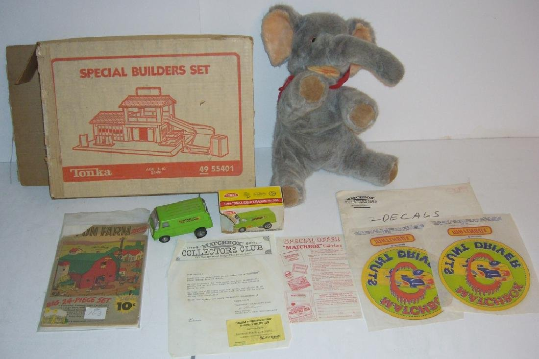 5 piece vintage toy lot