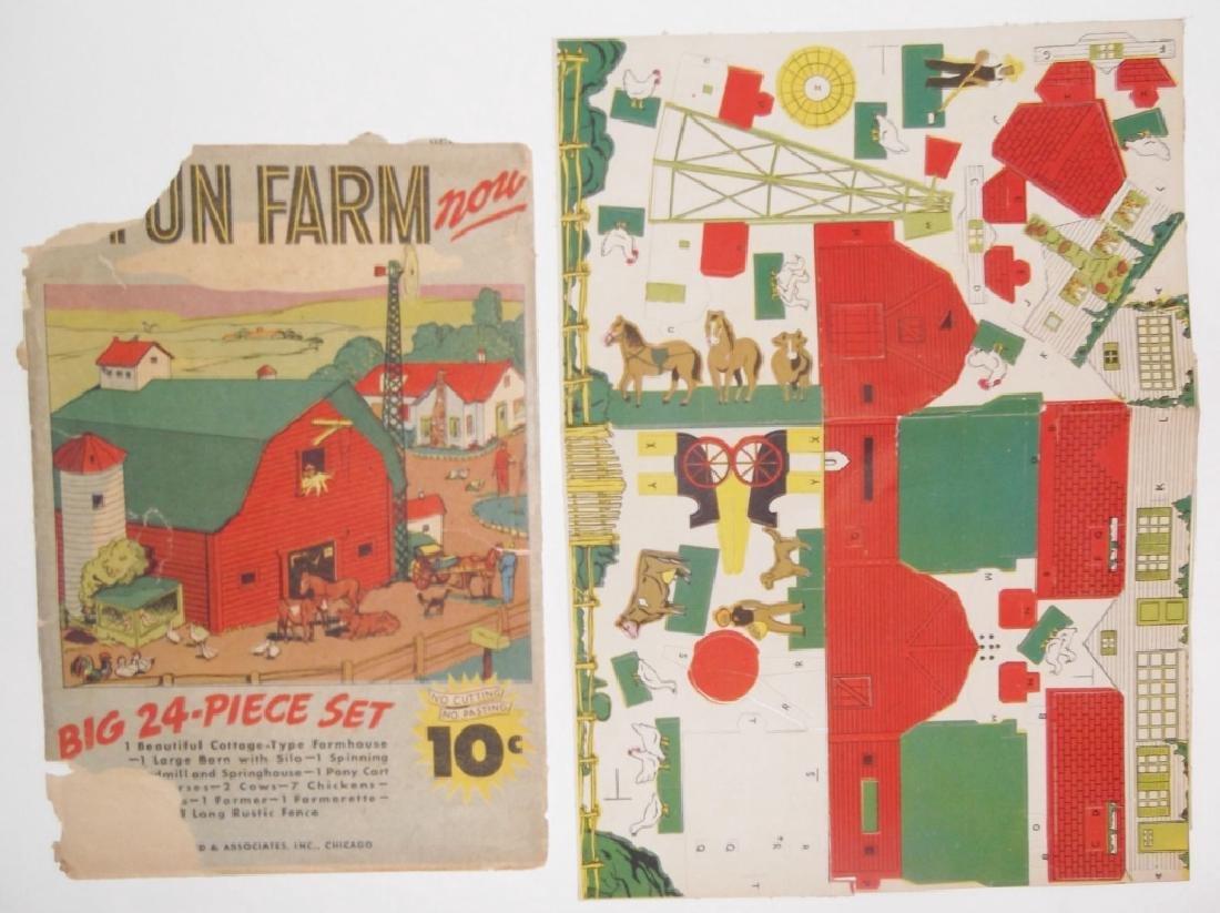 5 piece vintage toy lot - 2