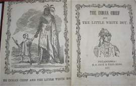 1857 The Indian Chief & the Little White Boy book
