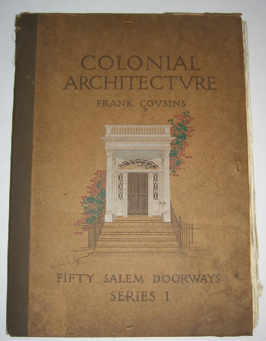 Colonial Architecture fifty Salem doorways series