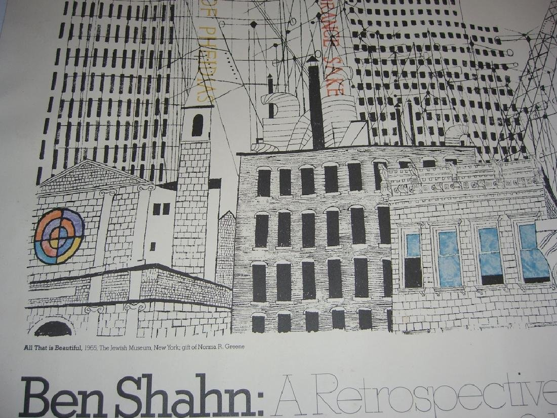 1977 Ben Shahn exhibition poster - 4