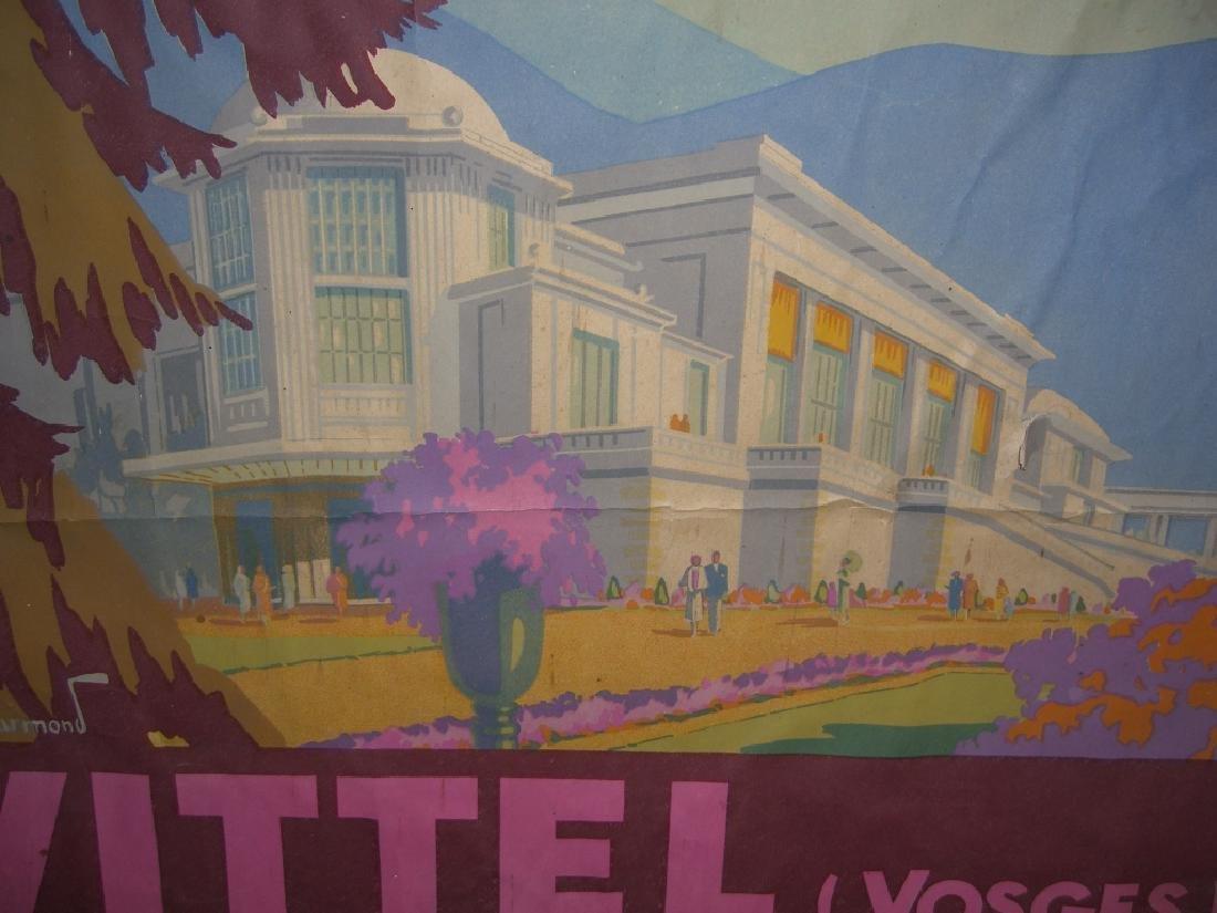 Chemins de Fer de L'Etat  Vittel Vosges poster - 4