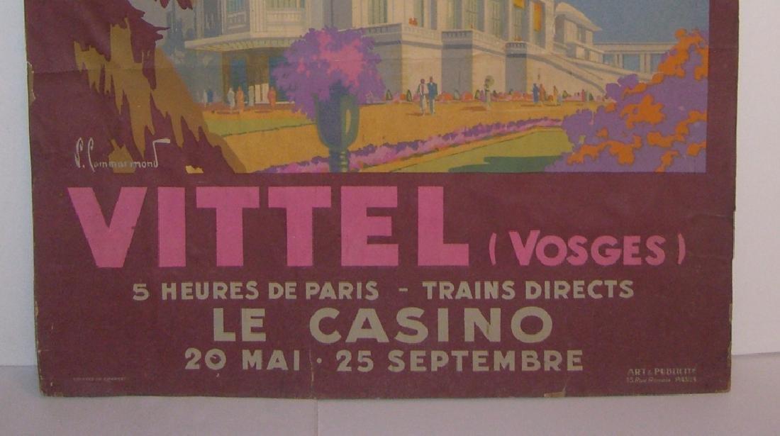 Chemins de Fer de L'Etat  Vittel Vosges poster - 5