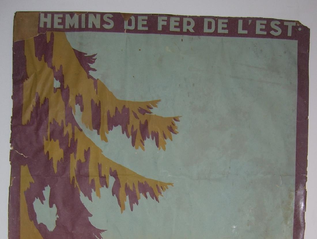 Chemins de Fer de L'Etat  Vittel Vosges poster - 7