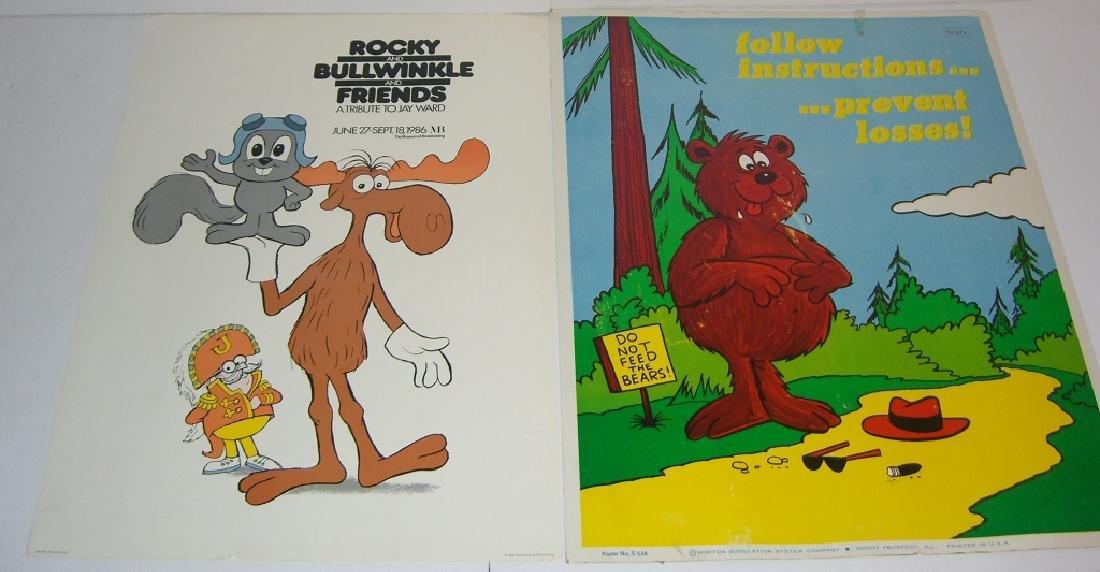 2 vintage posters
