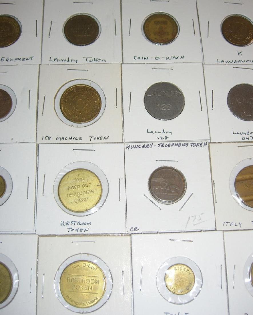 147 vintage mixed  tokens lot - 10