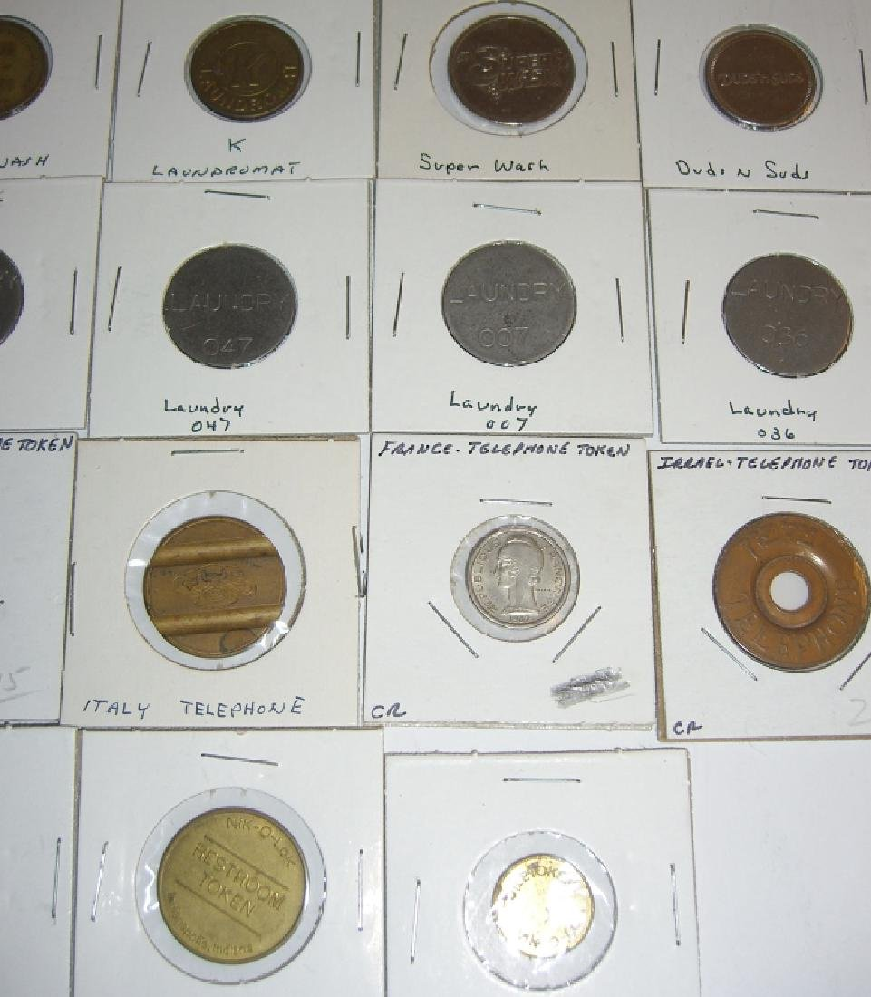 147 vintage mixed  tokens lot - 2