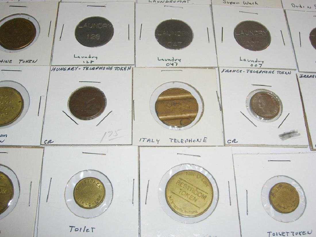 147 vintage mixed  tokens lot - 7