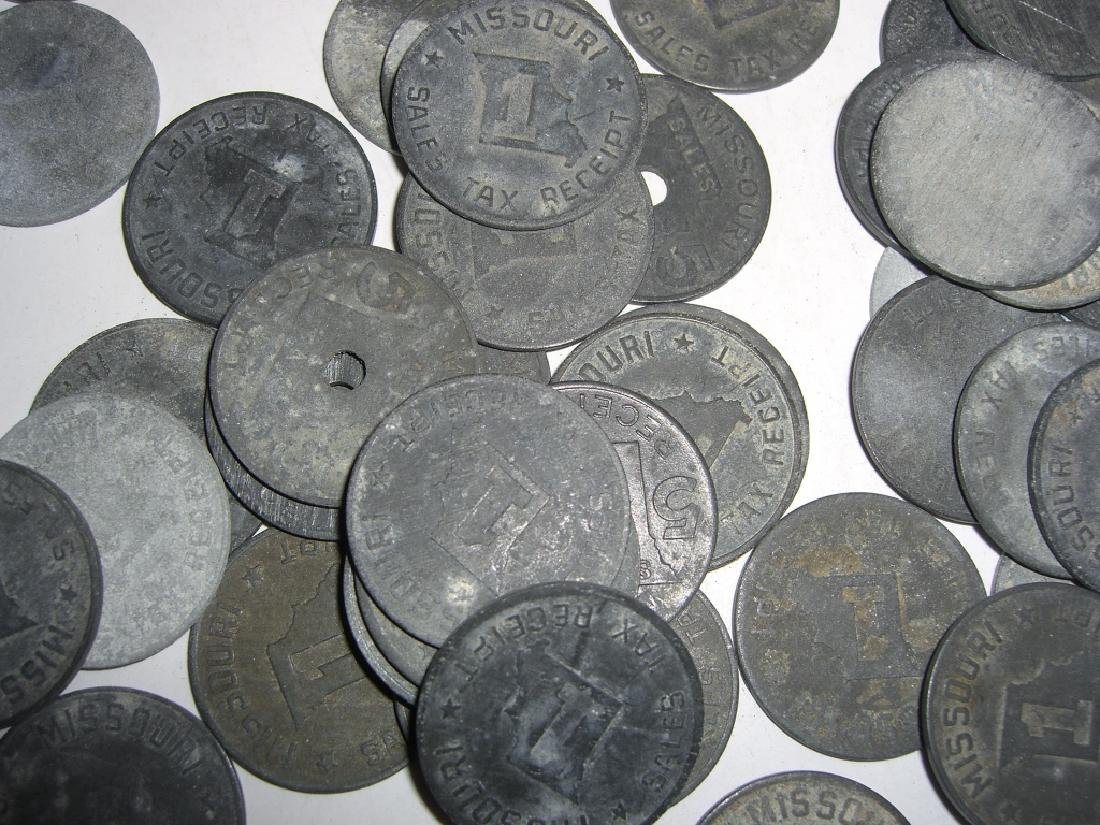 147 vintage mixed  tokens lot - 8