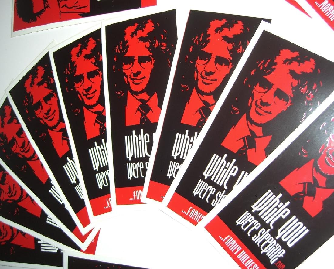 20 Obey Giant Shepard Fairey stickers - 3