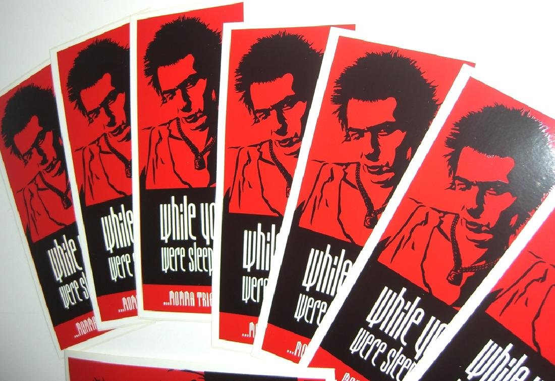 20 Obey Giant Shepard Fairey stickers - 4