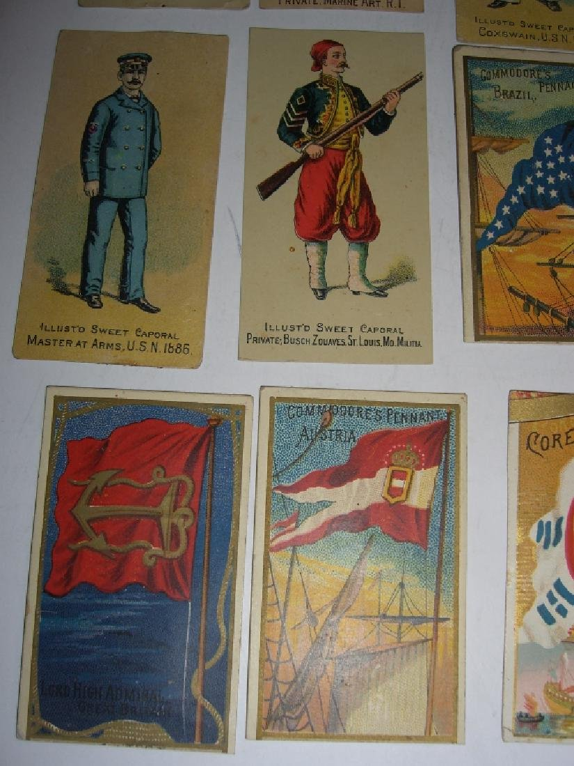 Kinney Bros Sweet Caporal Military tobacco cards - 10