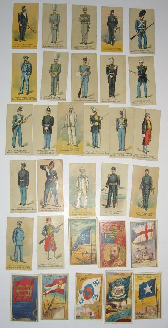 Kinney Bros Sweet Caporal Military tobacco cards