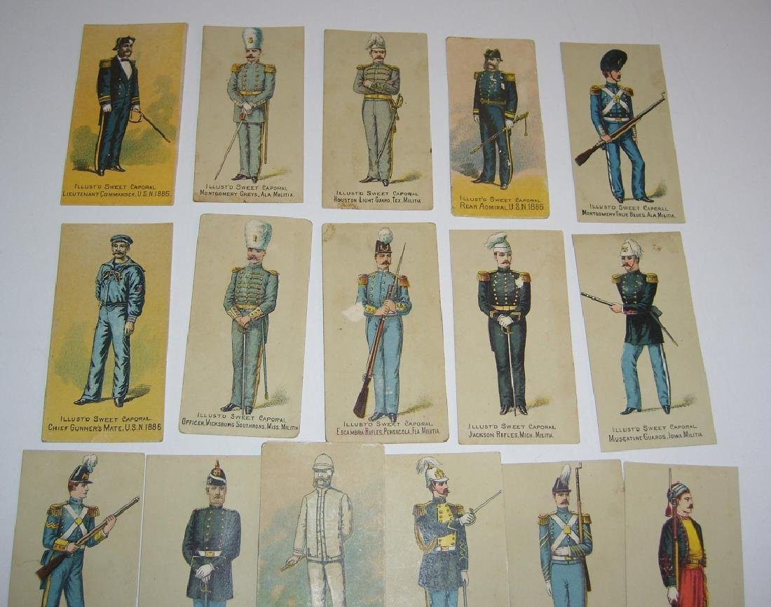 Kinney Bros Sweet Caporal Military tobacco cards - 5