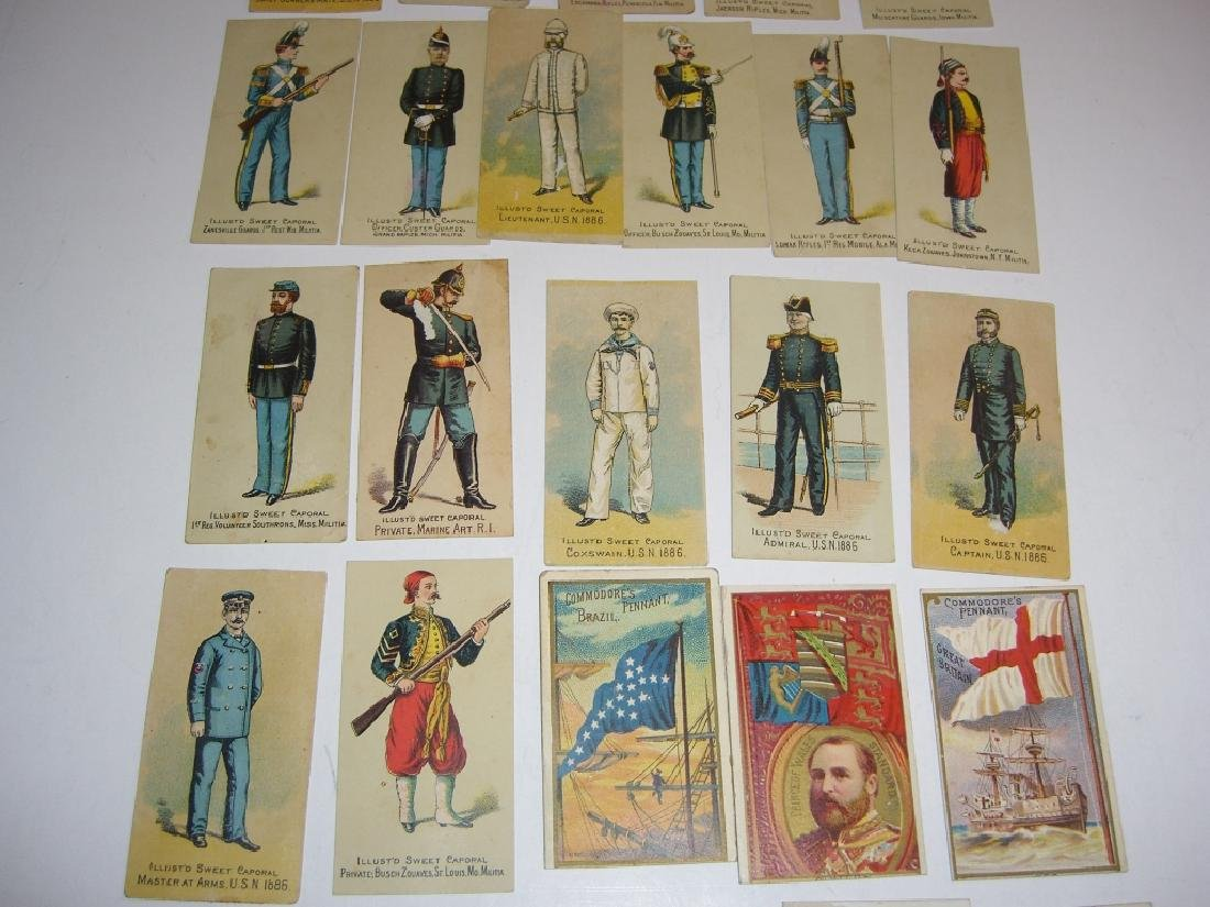 Kinney Bros Sweet Caporal Military tobacco cards - 6