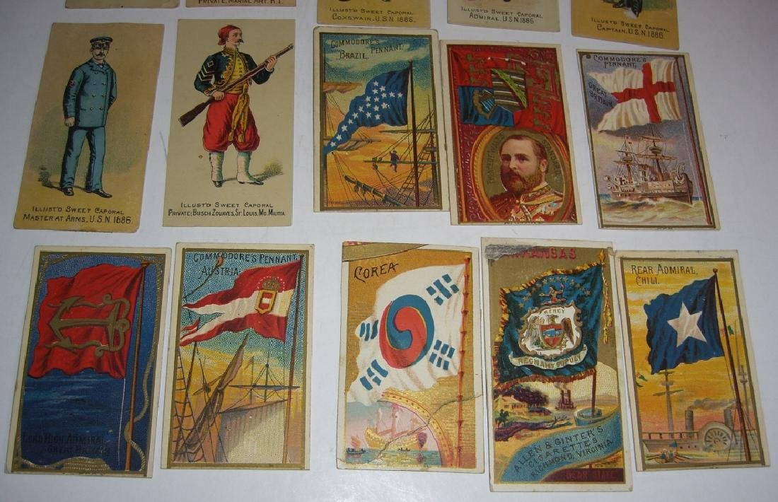 Kinney Bros Sweet Caporal Military tobacco cards - 7
