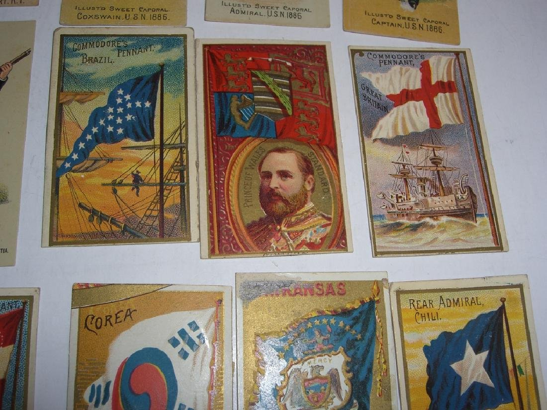 Kinney Bros Sweet Caporal Military tobacco cards - 8