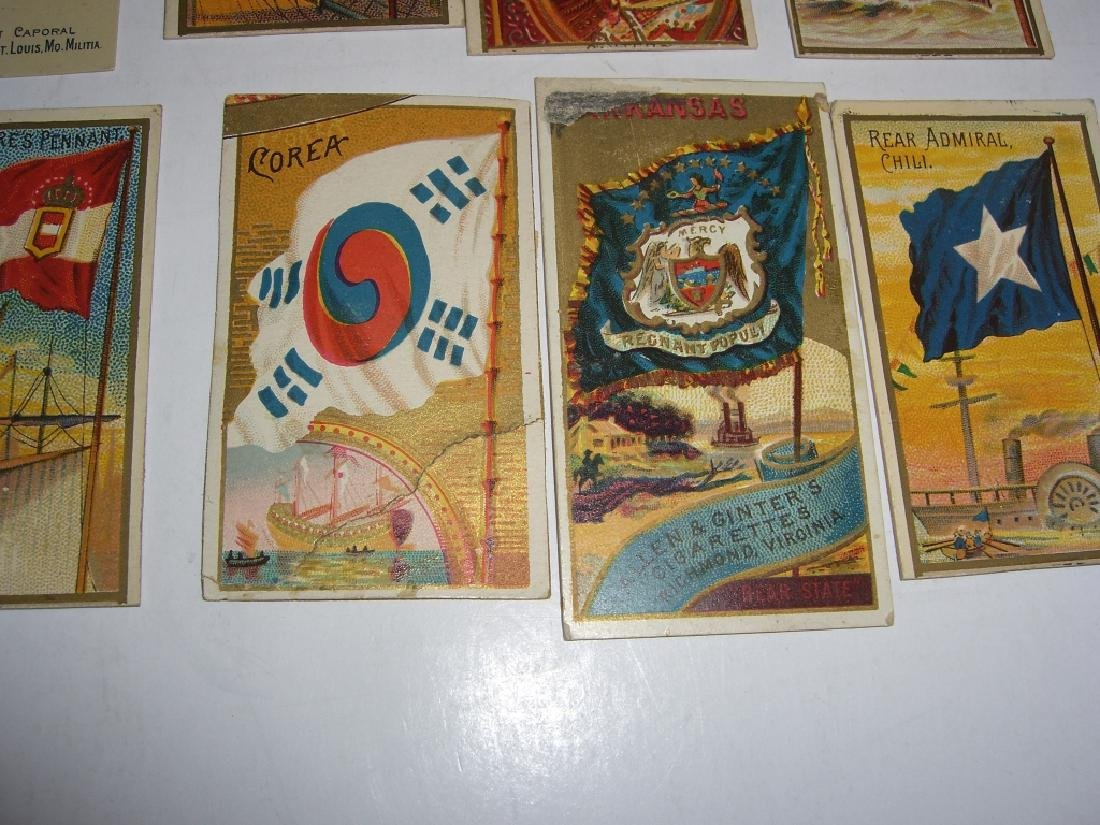 Kinney Bros Sweet Caporal Military tobacco cards - 9