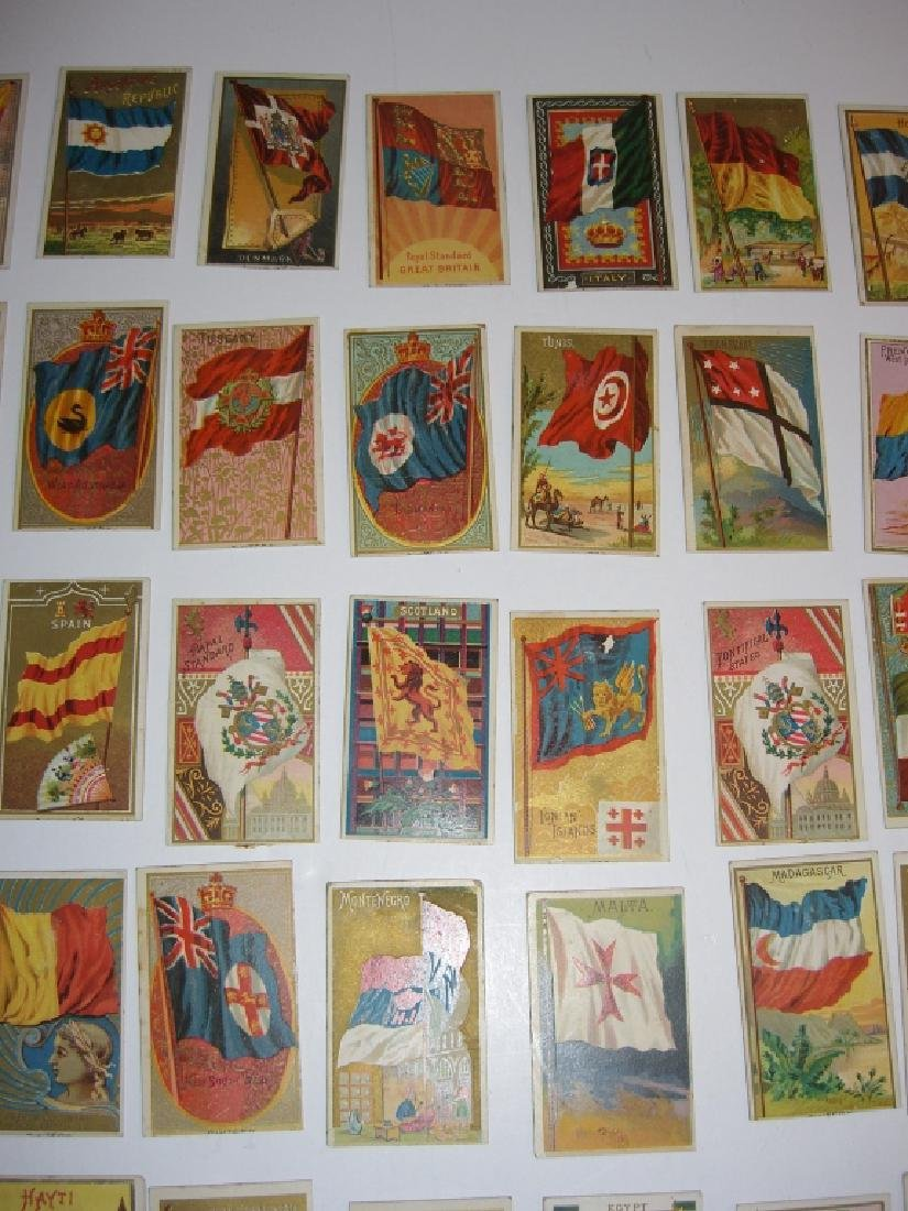 97 1887 Flags of  all Nations tobacco cards - 6