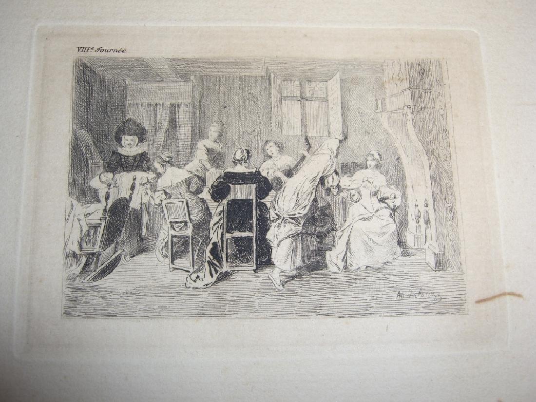 50 19th century engravings/etchings - 10
