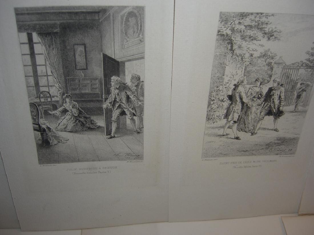 50 19th century engravings/etchings - 8