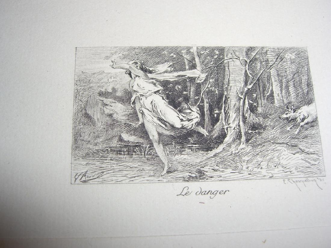 50 19th century engravings/etchings - 5