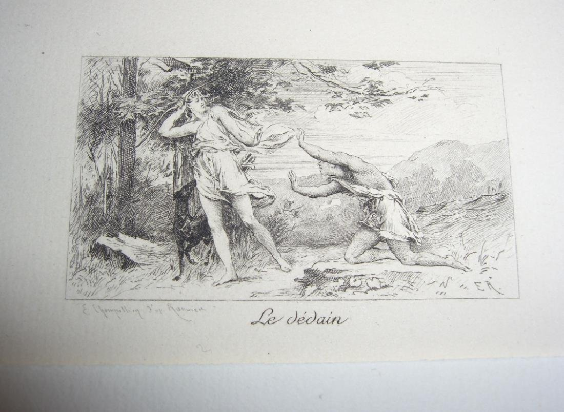 50 19th century engravings/etchings - 6