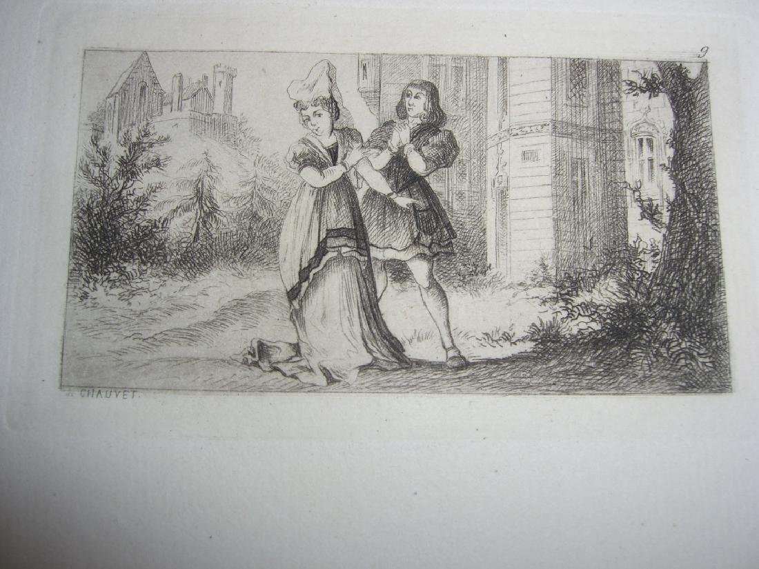 50 19th century engravings/etchings - 7