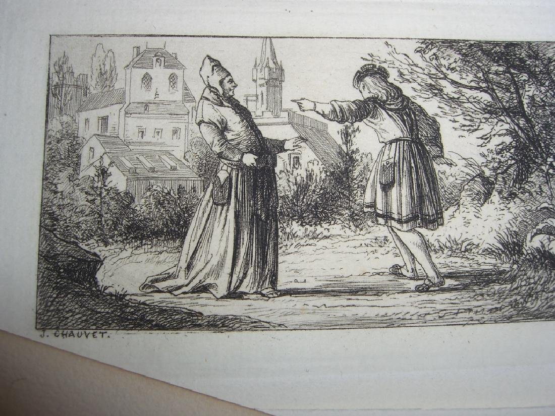 50 19th century engravings/etchings - 8