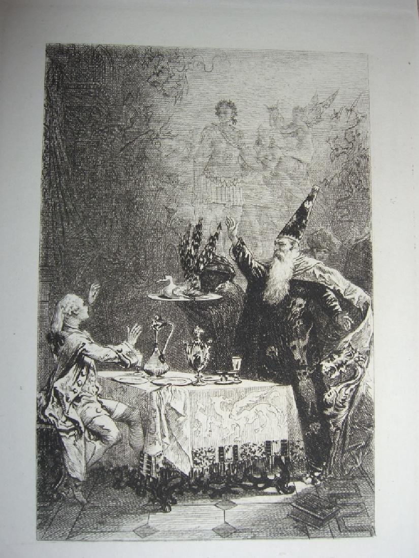 50 19th century engravings/etchings - 2