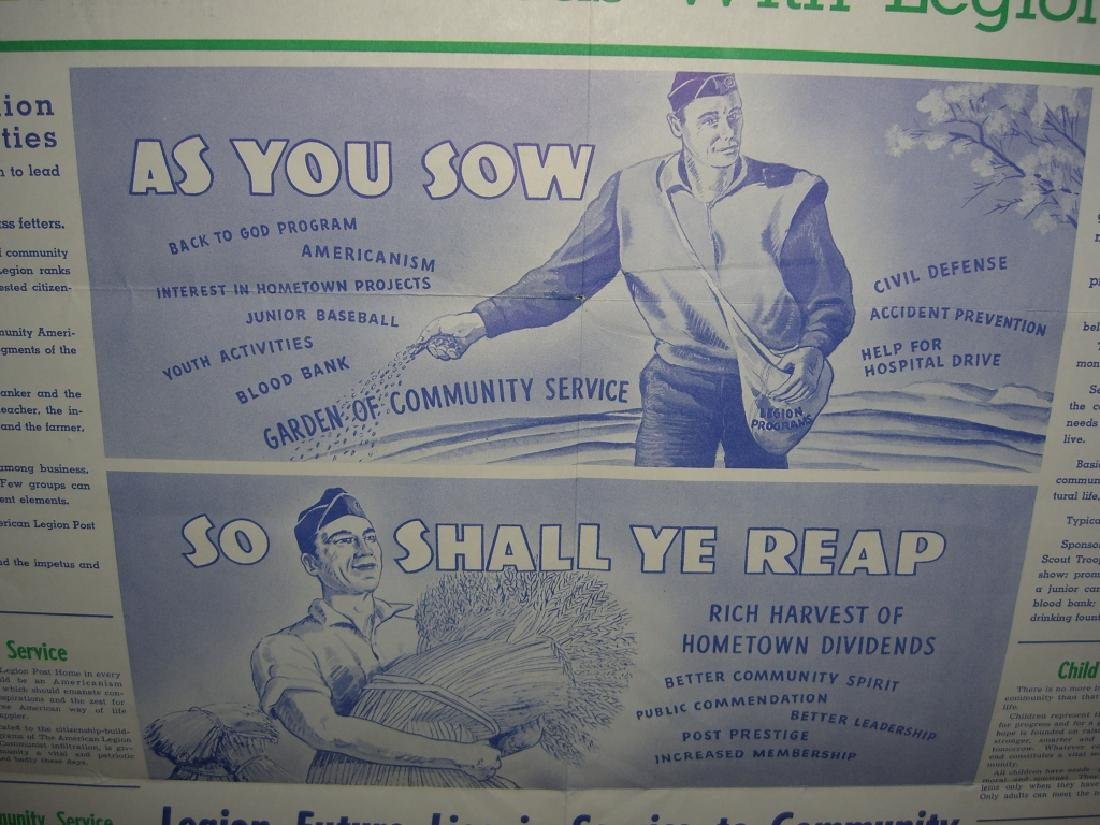 2 vintage military advertising posters - 3