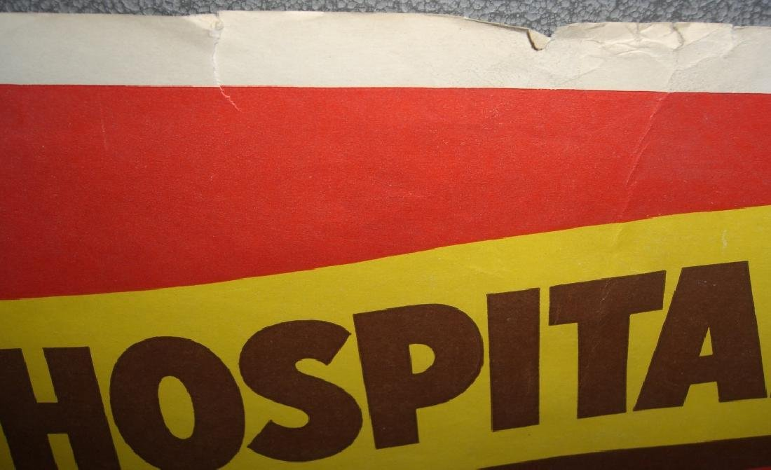 Vintage Nehi soft drink advertising store poster - 3