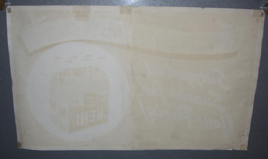 Vintage Nehi soft drink advertising store poster - 4